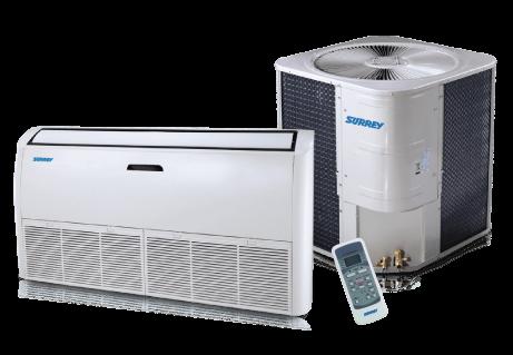 Surrey split tipo consola nova for Aire acondicionado 3500 frigorias inverter